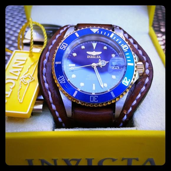 95dc7d118 Invicta Other | Elegant Bund Strap With Pro Diver | Poshmark